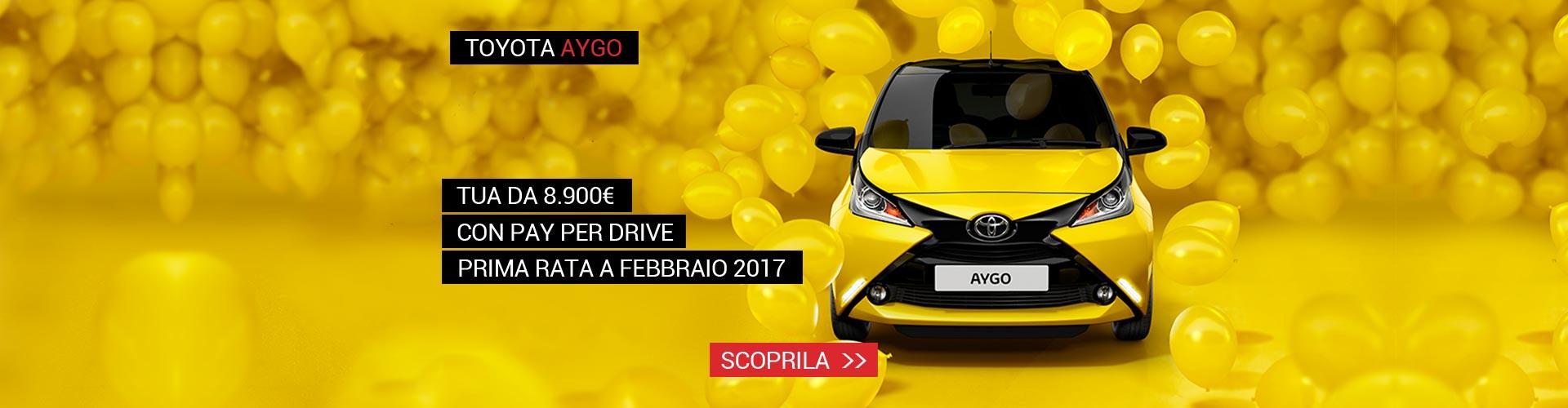 Toyota Aygo Go Yellow