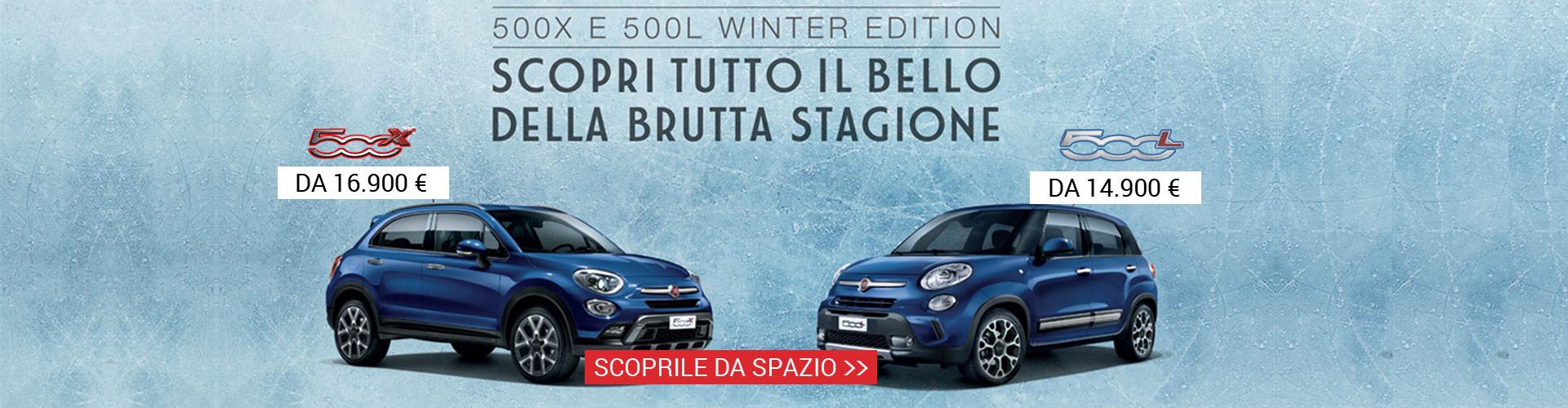 Fiat 500 X 500 L Winter Edition