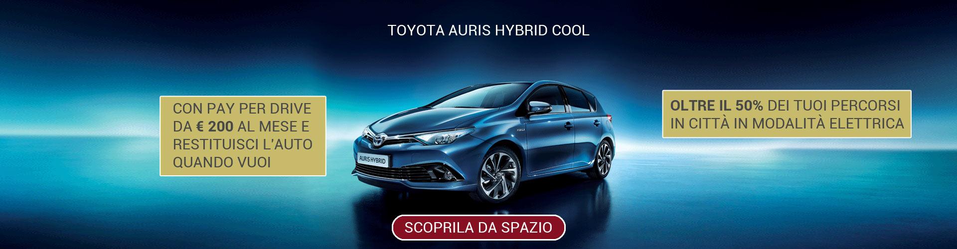 Toyota Auris Hybrid Cool
