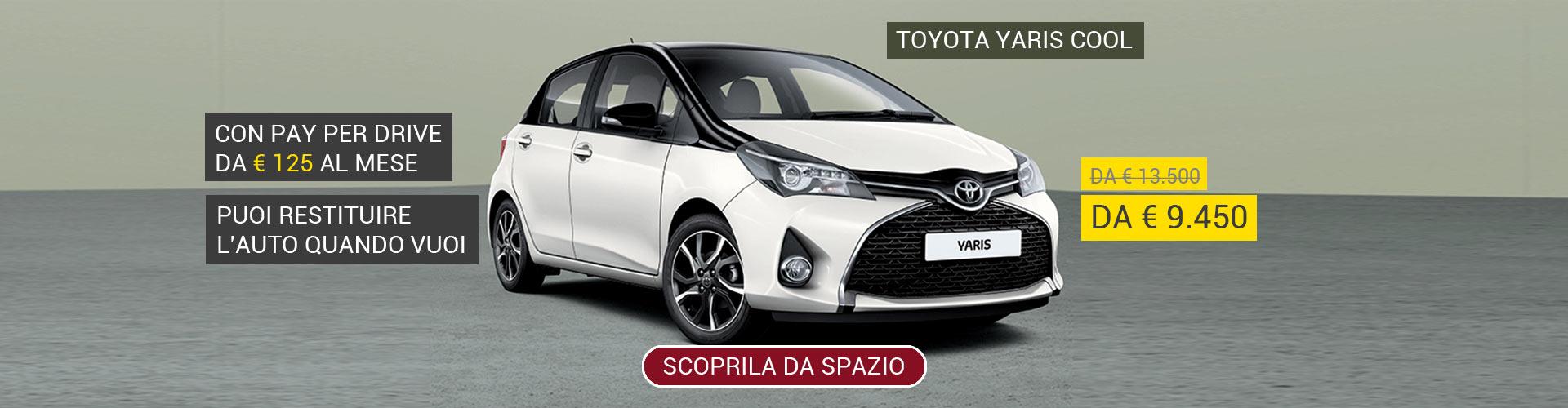 Toyota Yaris Cool