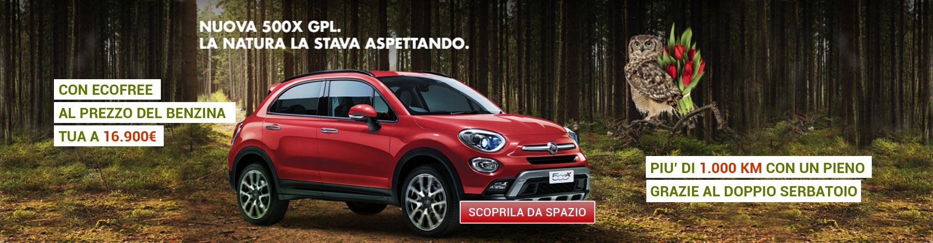 Fiat 500X GPL