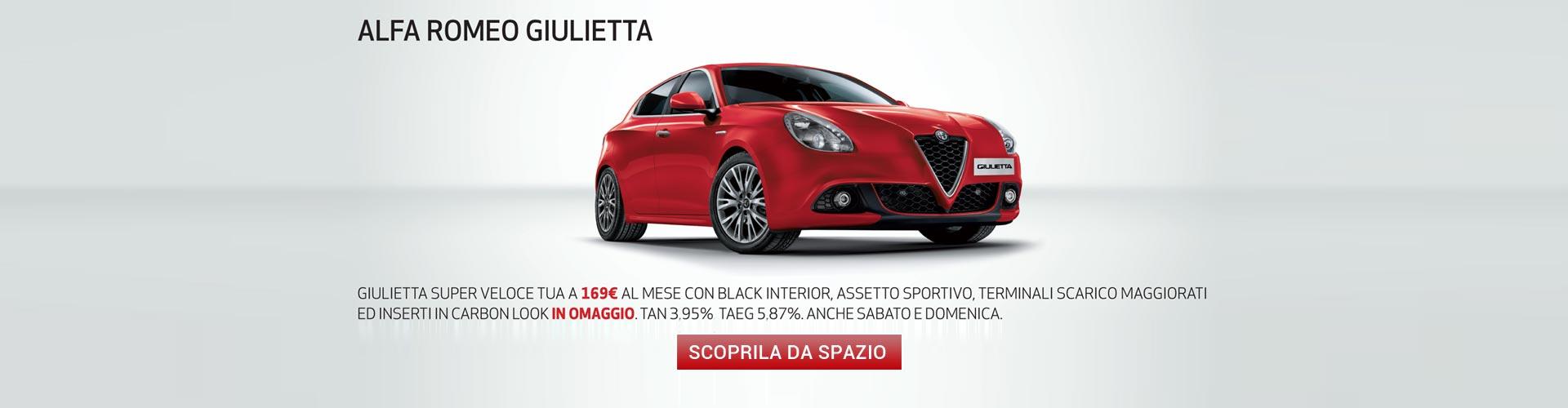 Alfa Giulietta Super veloce