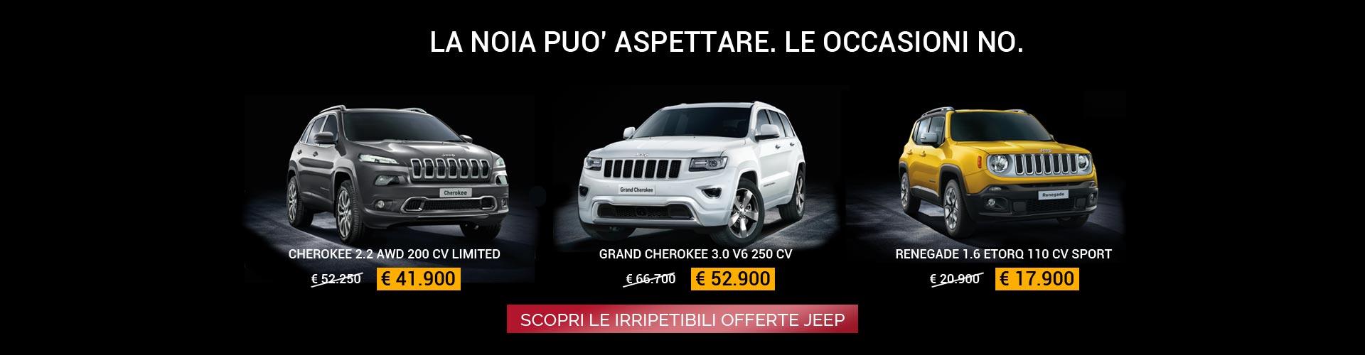 Offerte Jeep da Spazio