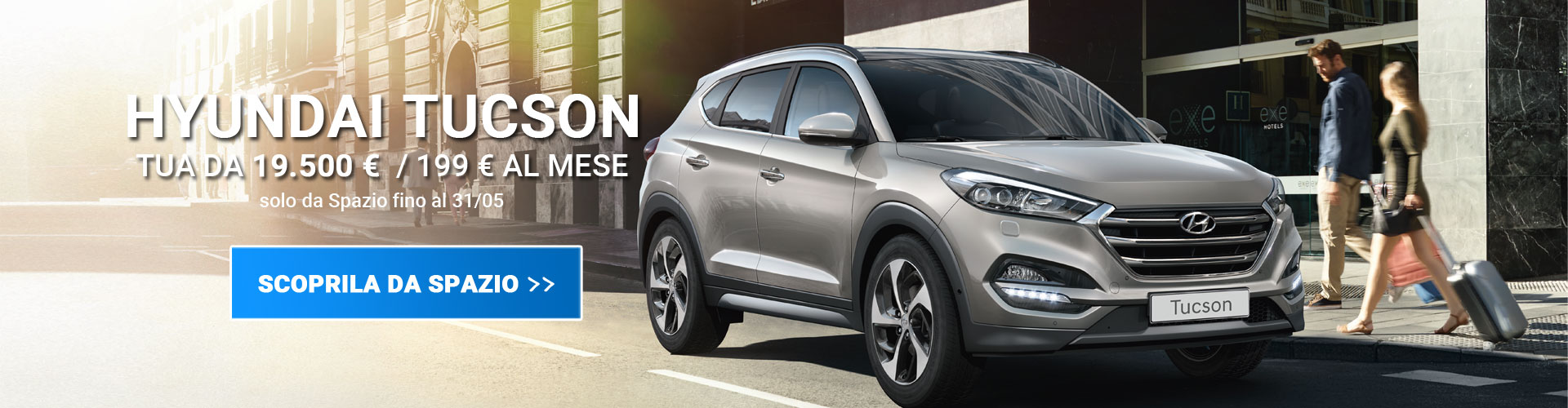 Hyundai Tucson da Spazio a Torino