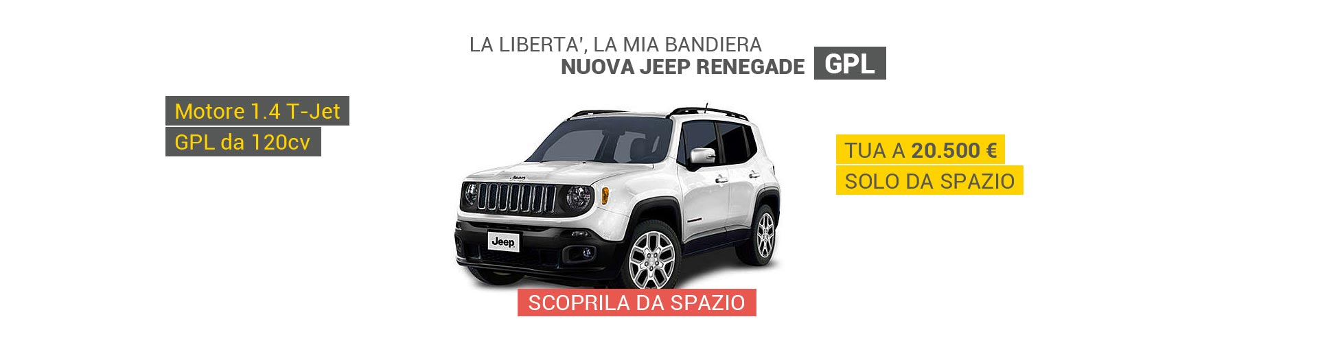 Jeep Renegade GPL