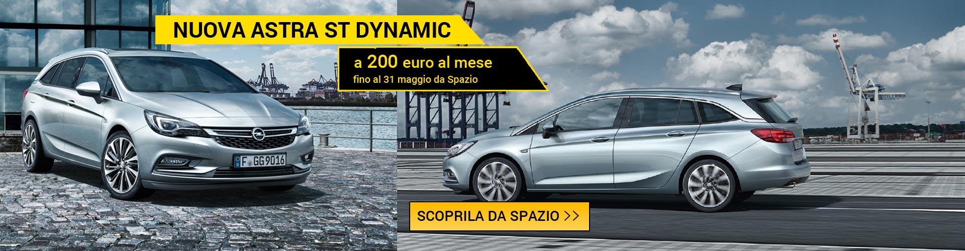 Opel Astra Sport Tourer da Spazio a Torino