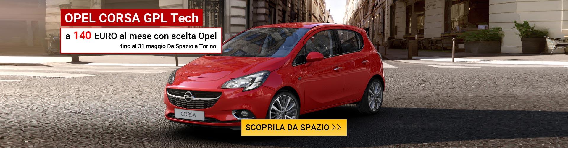 Opel Corsa Euro 6 da Spazio a Torino