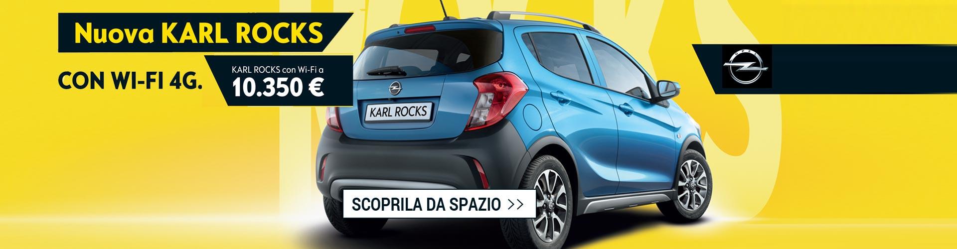 Opel Karl Rocks da Spazio a Torino