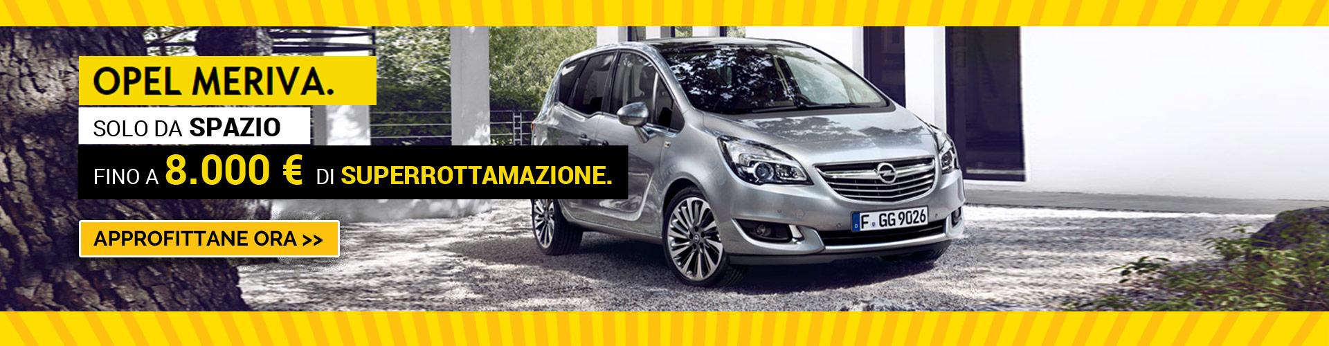 Opel MERIVA da Spazio a Torino