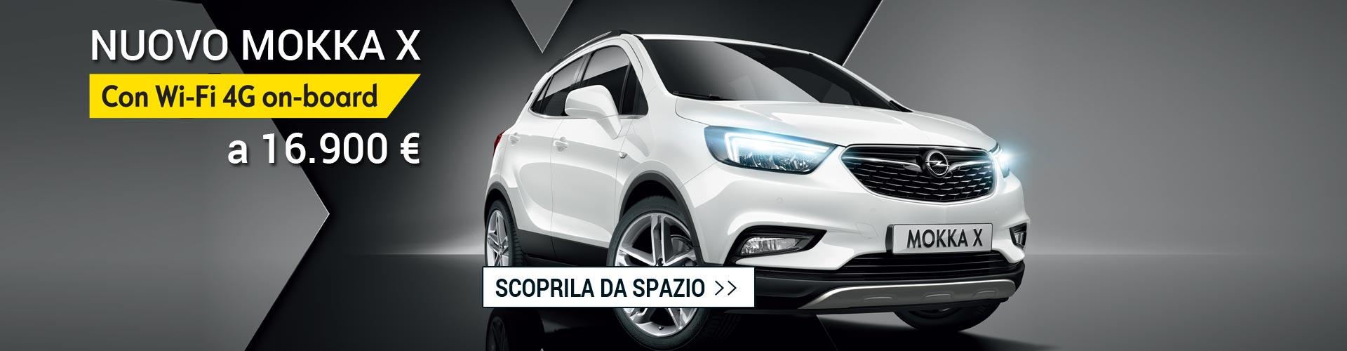 Opel mokkax Wifi da Spazio a Torino