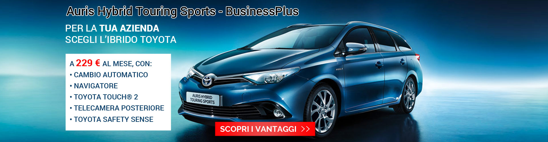 Promo Business Toyota Torino