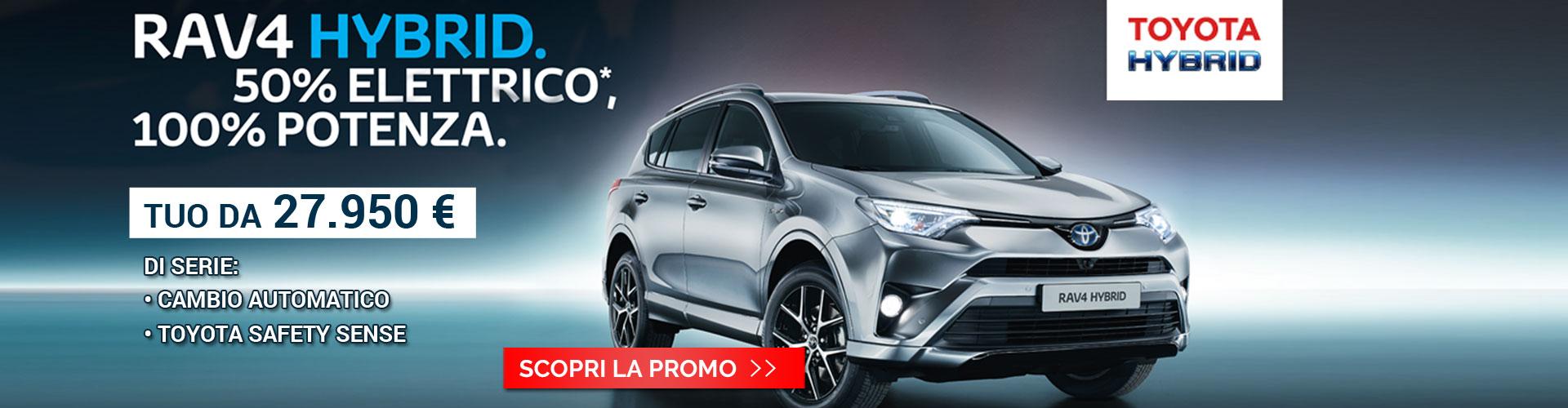 Promo RAV4 Hybrid Toyota Torino