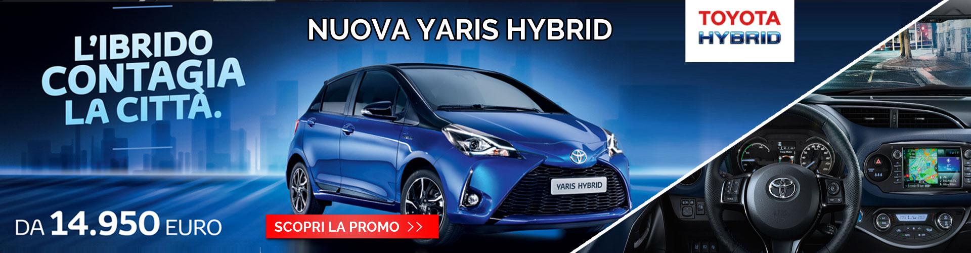 Promo Yaris Hybrid Toyota Torino