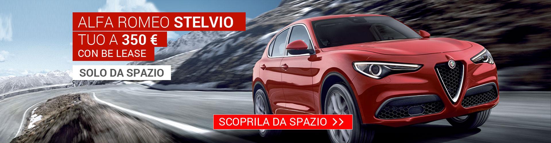 Alfa Romeo Stelvio da Spazio a Torino