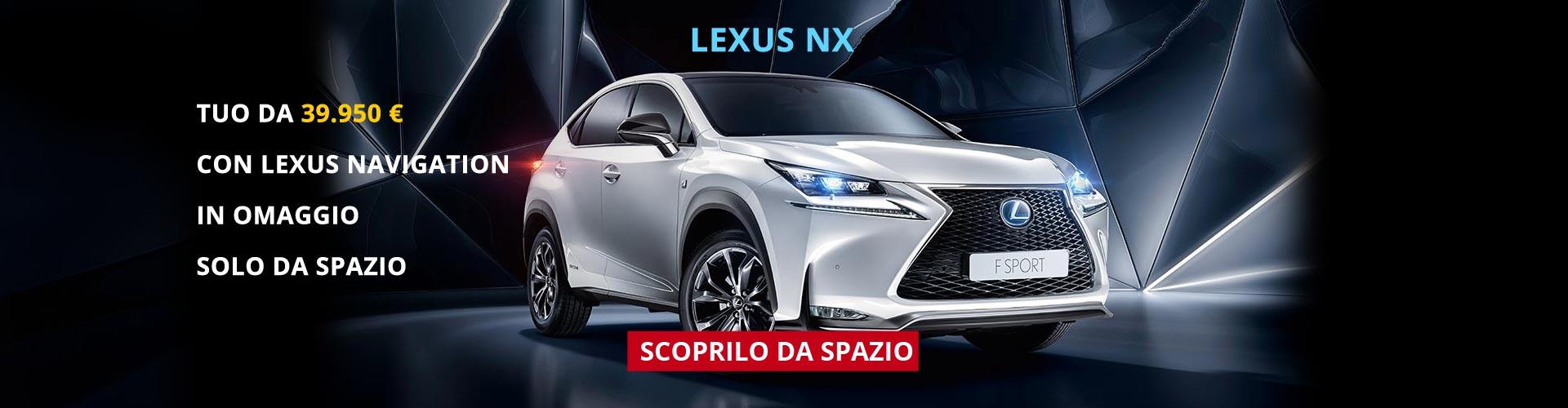 Lexus NX da Spazio Torino