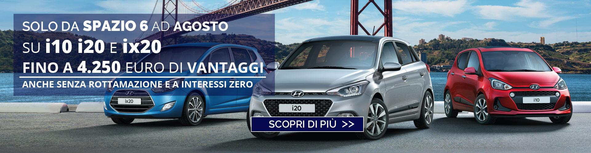 Hyundai City car Spazio 6 Torino