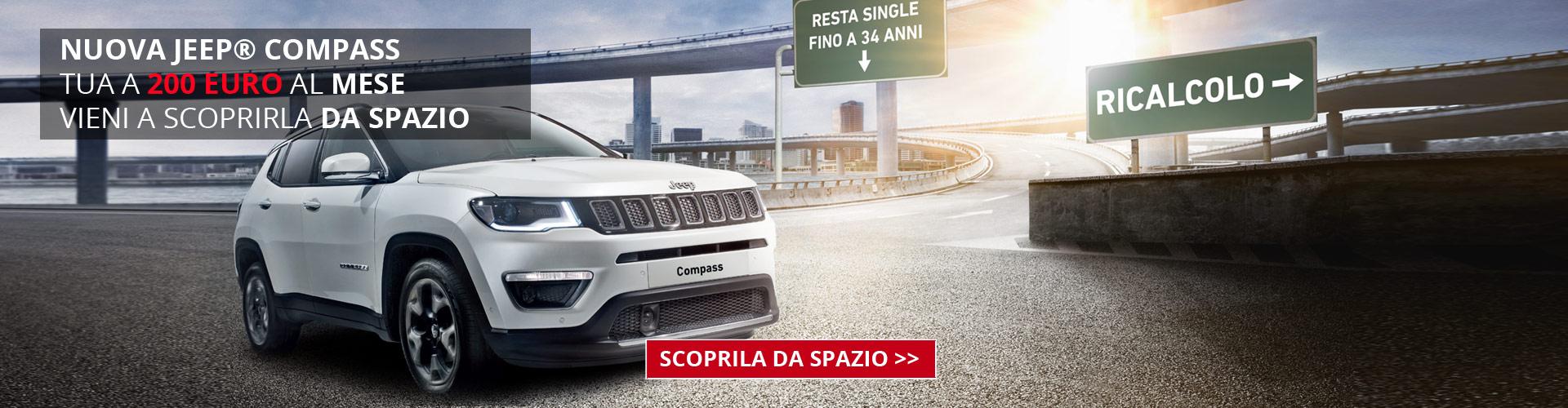 Jeep Compass da Spazio a Torino