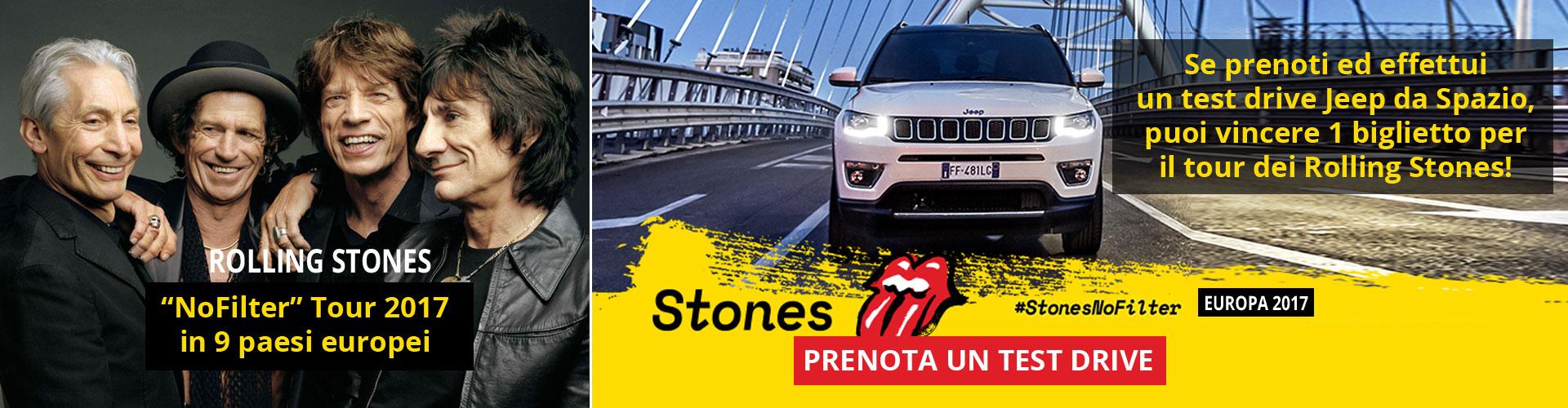 Jeep sponsor Rolling Stones Tour 2017
