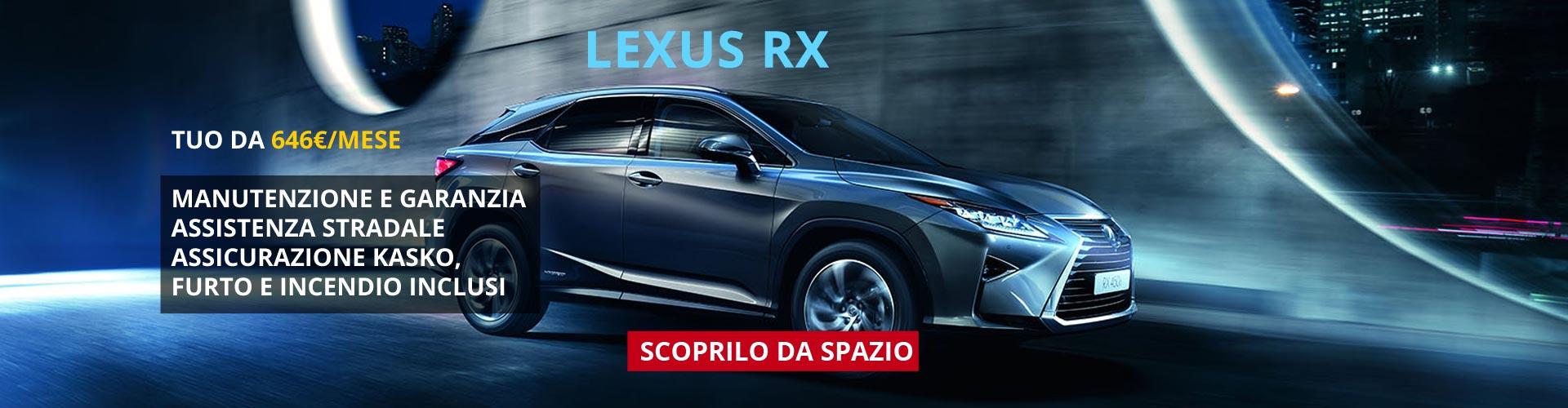 Lexus RX da Spazio Torino