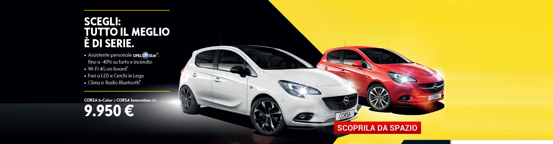Opel Corsa b-Color e Innovation