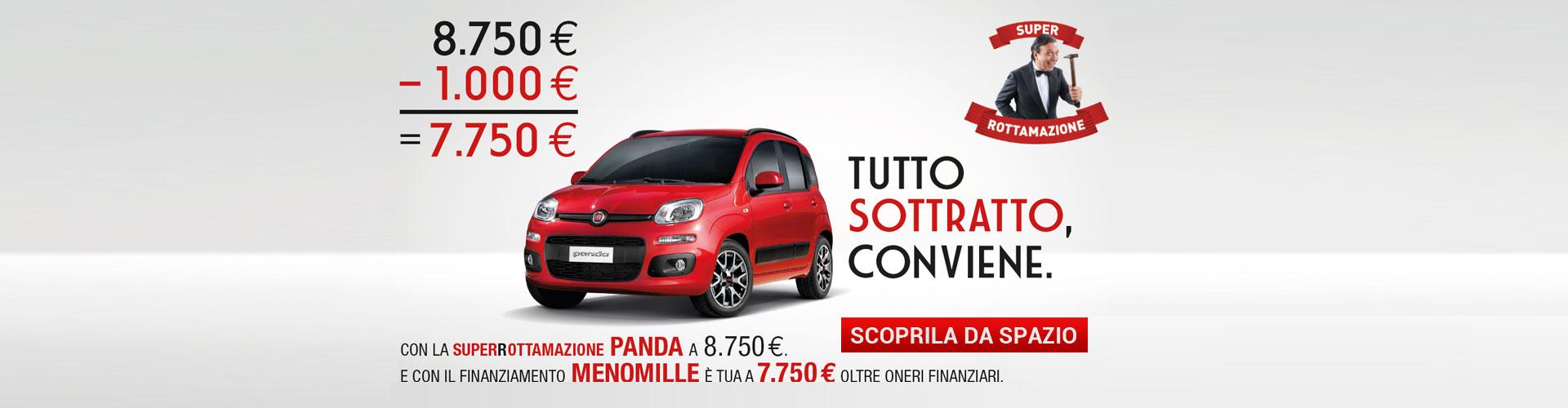 Fiat Panda finanziamento Menomille