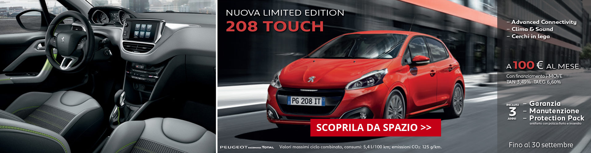 Peugeot 208 Touch Limited Edition