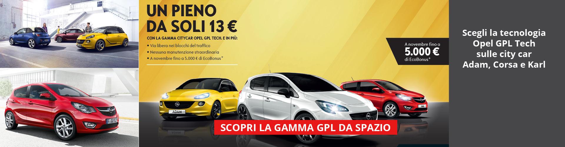 Gamma City Car Opel GPL Tech