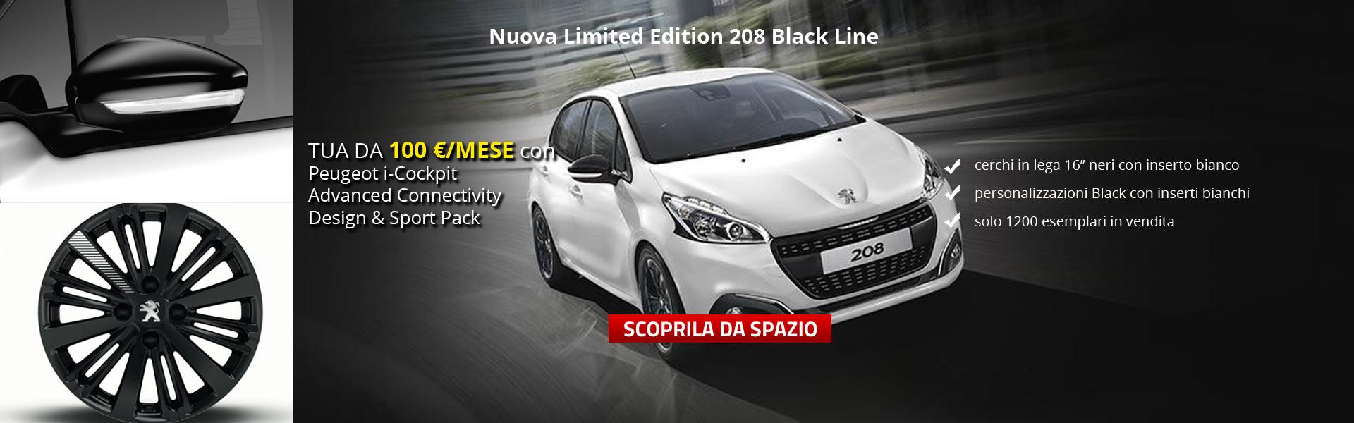 Peugeot 208 Black Line