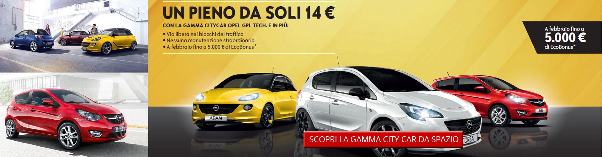 Gamma Opel City Car