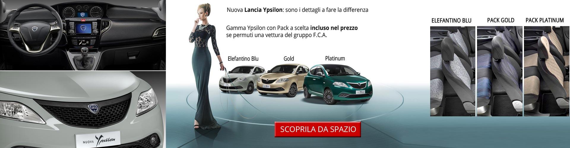 Lancia Ypsilon con Pack incluso
