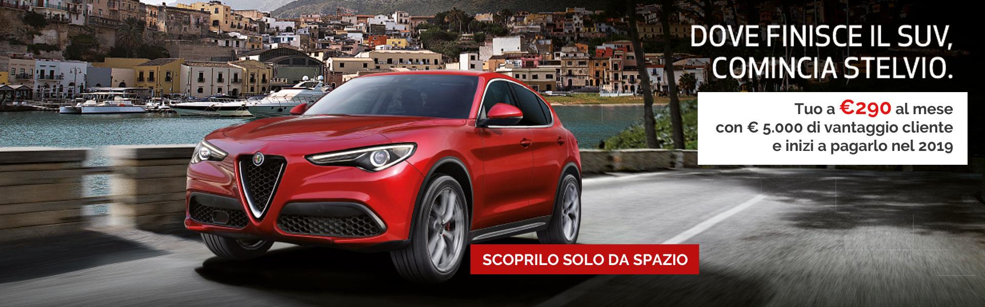 Alfa Stelvio Sport Edition