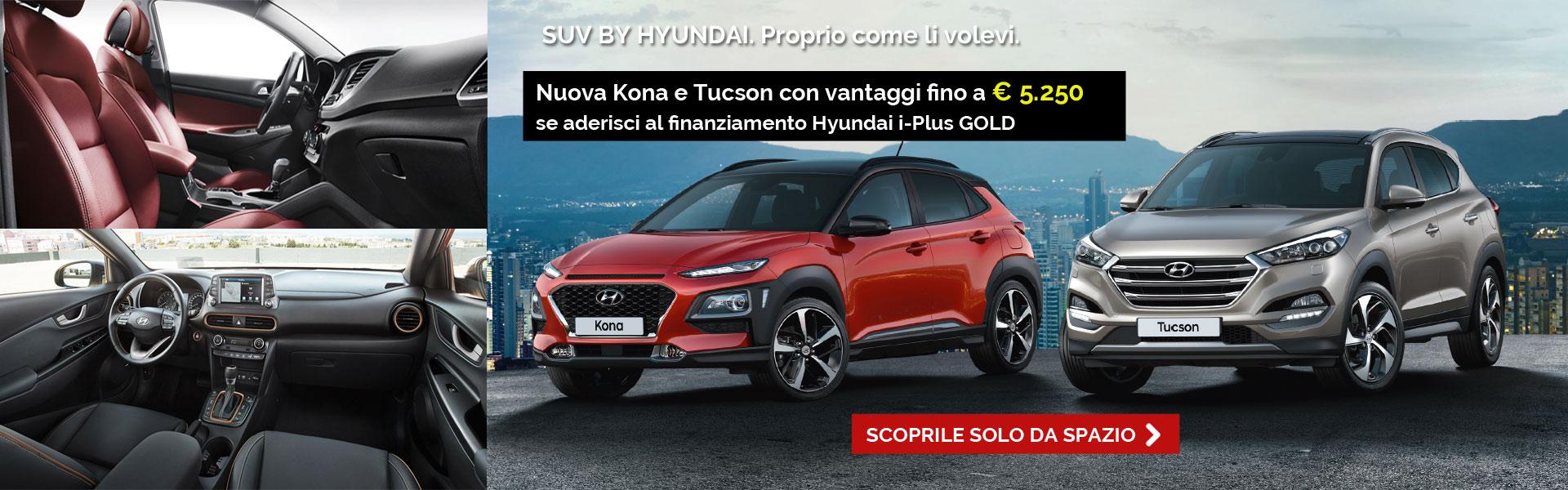 Hyundai gamma SUV Kona Tucson