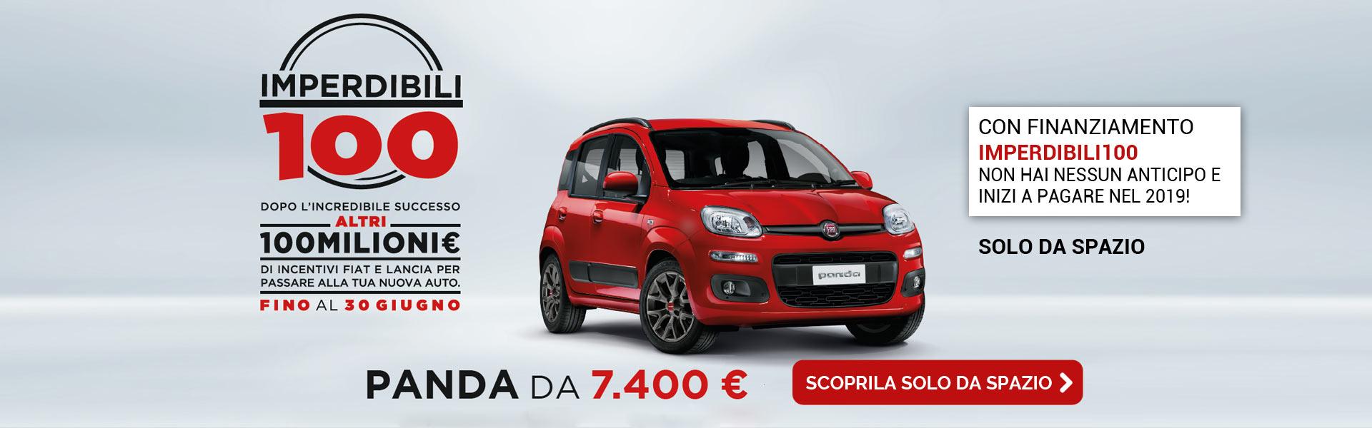 Fiat Panda con finanziamento Imperdibili100