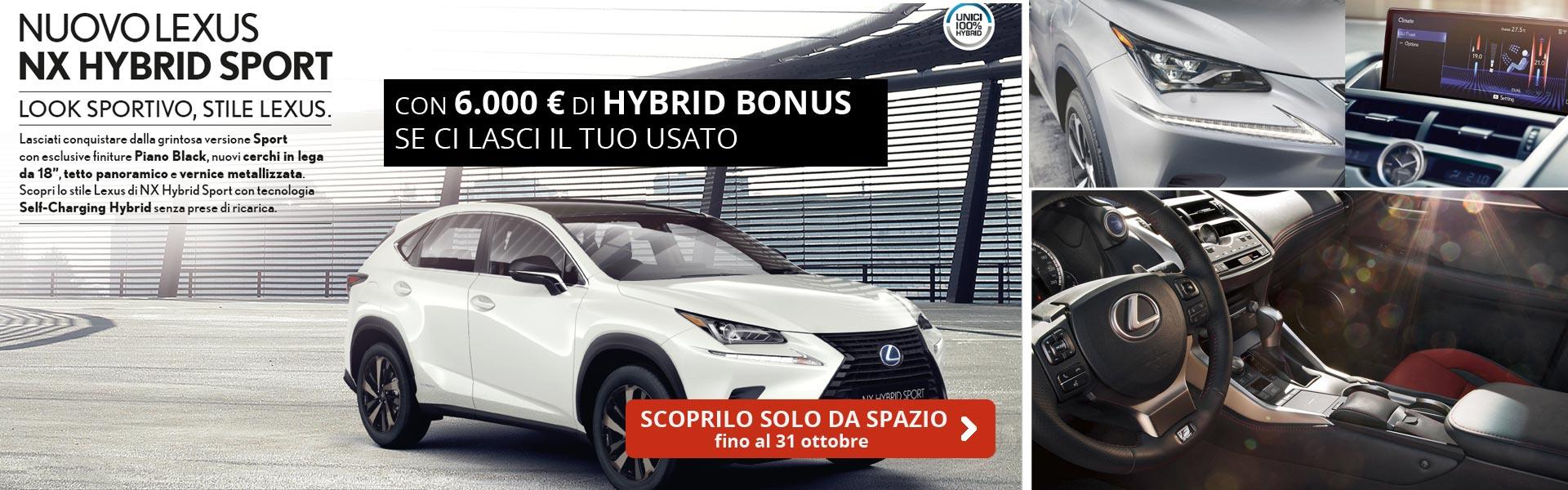 Lexus NX Hybrid Sport
