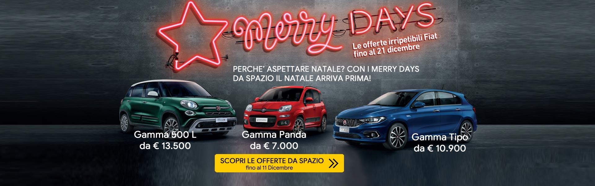 Merry Days su gamma Fiat