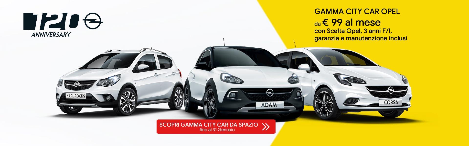 Gamma City Car Opel