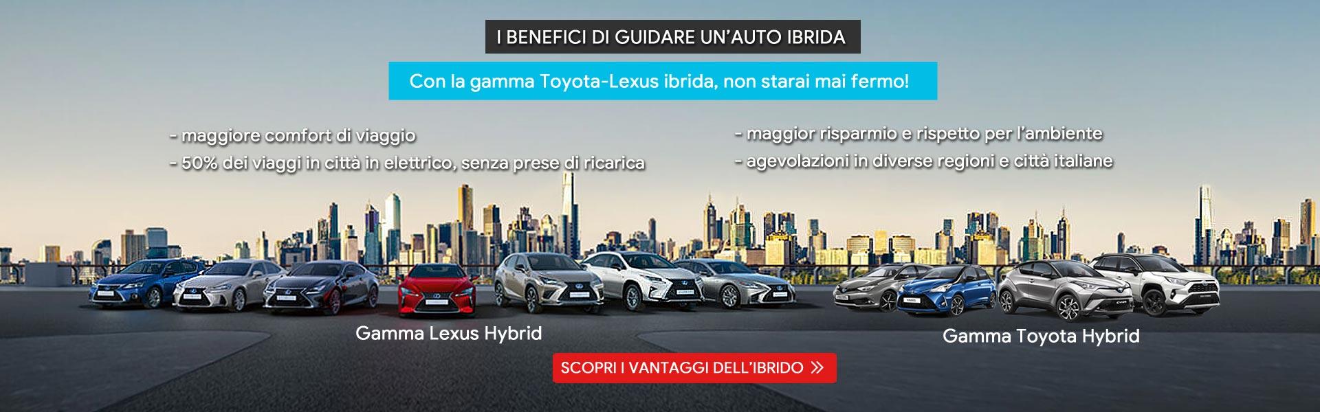 Scegli l'ibrido Toyota e Lexus