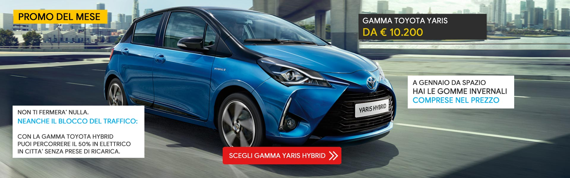 Gamma Toyota Yaris Hybrid