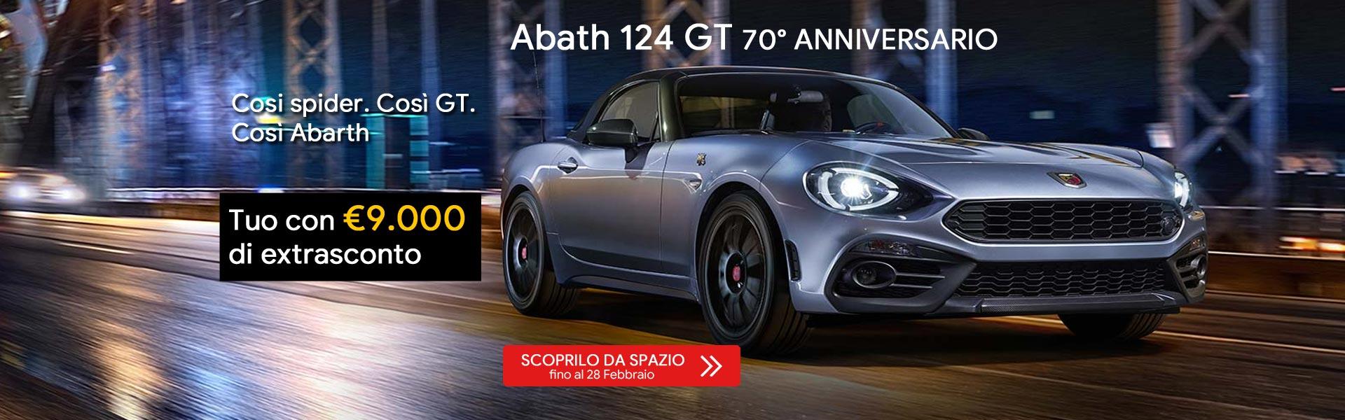 Gamma Abarth 124 GT