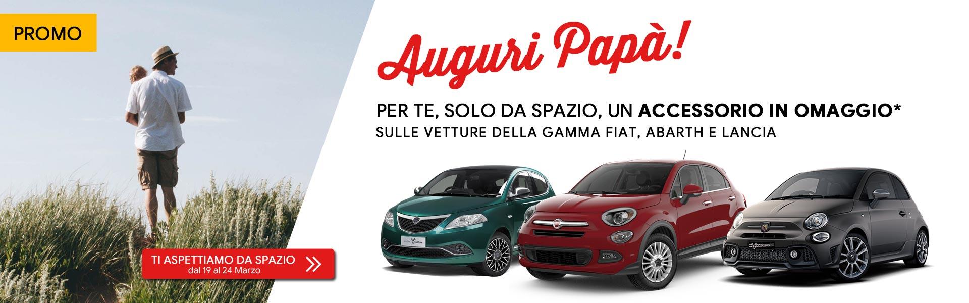 Festa del papà Fiat Abarth Lancia