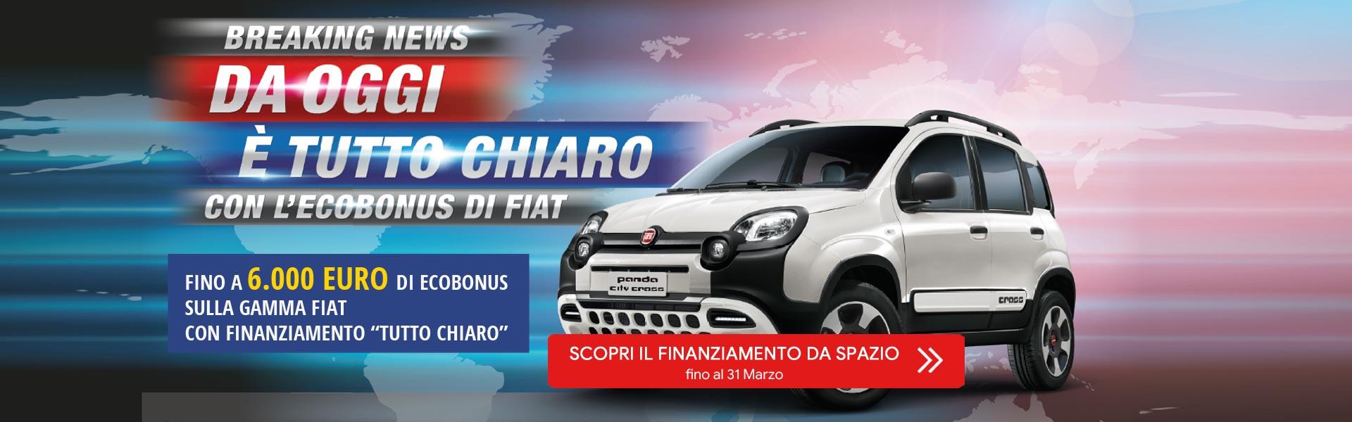 Ecobonus su gamma Fiat