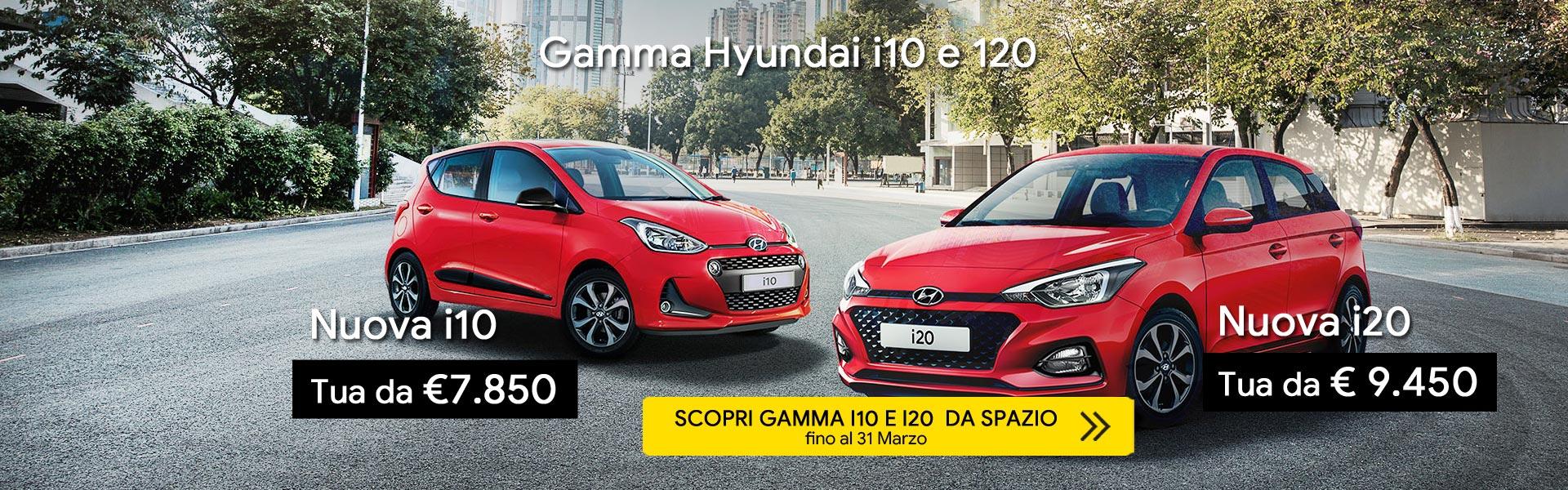 Hyundai i10 e i20