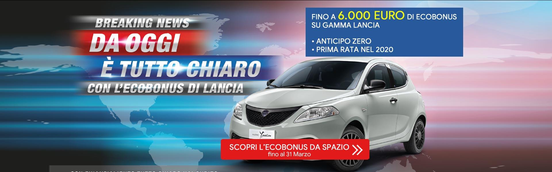 Ecobonus su Lancia Ypsilon