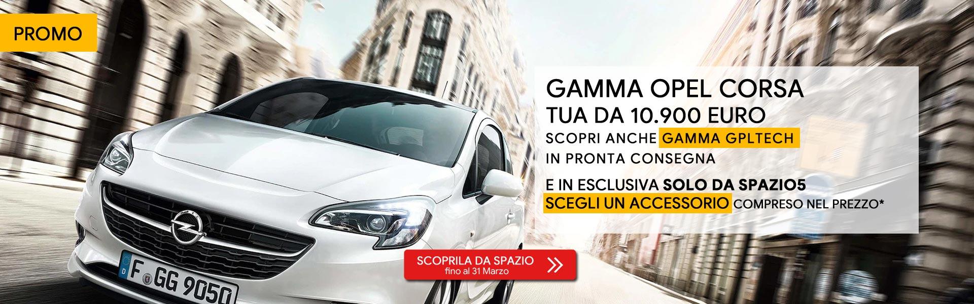 Opel Corsa Offerta Marzo