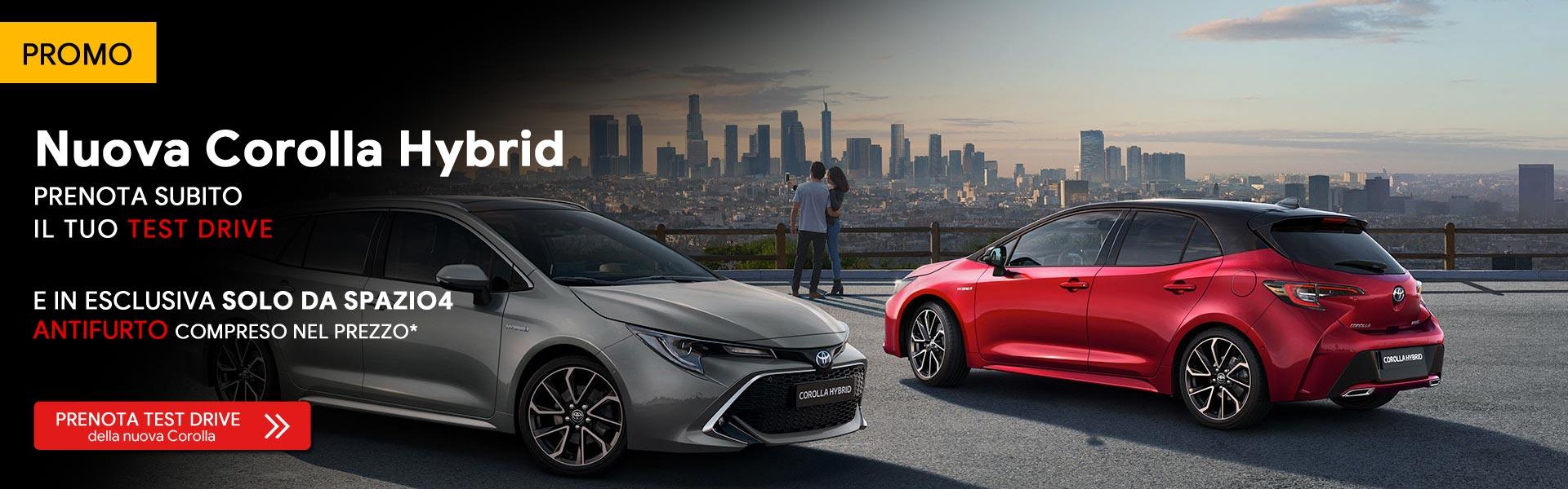 Toyota Corolla Porte Aperte