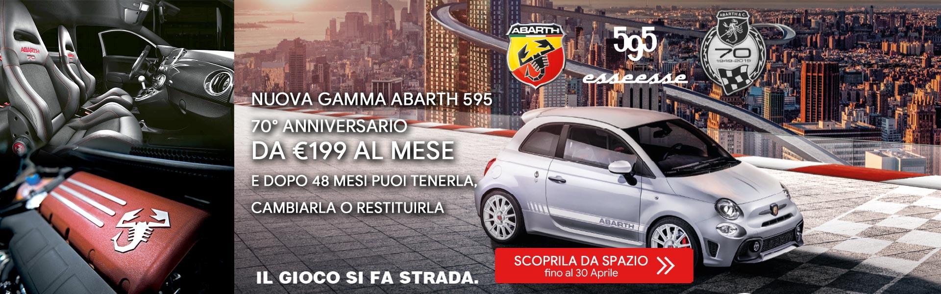 Gamma Abarth 595 70° Anniversario