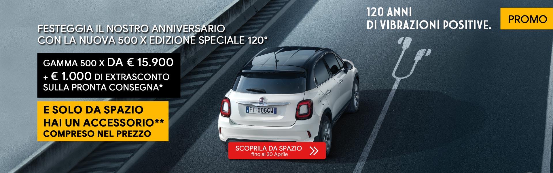 Fiat 500x Promo