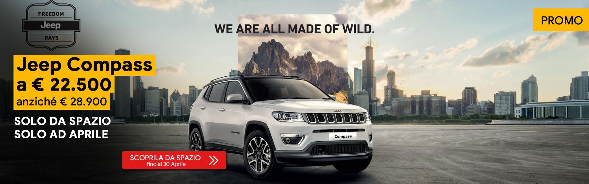 Jeep Compass Promo Aprile