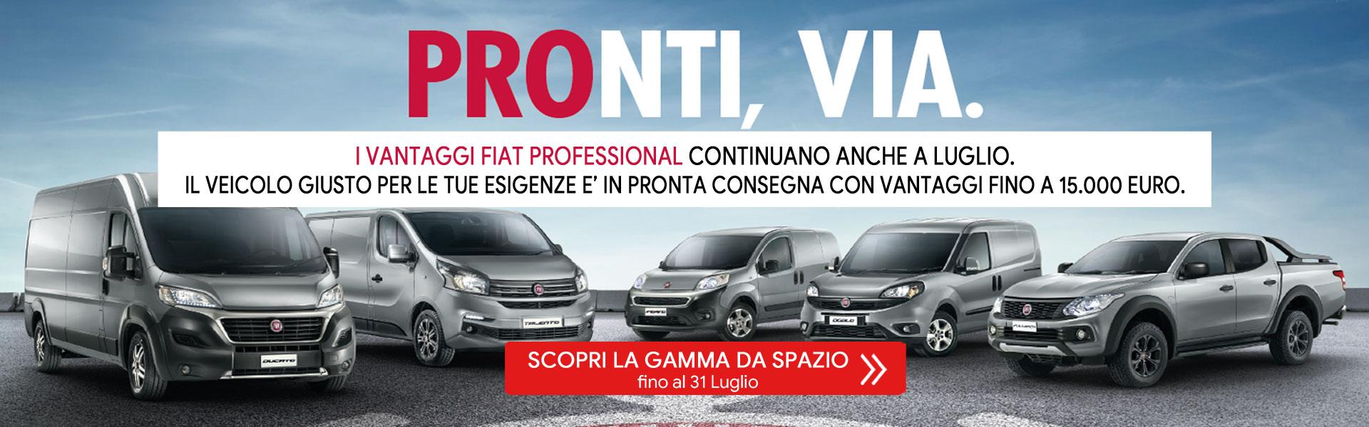 Gamma veicoli Fiat Professional