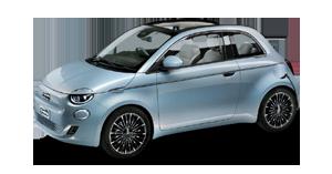 Fiat 500e Cabrio Alba e Bra